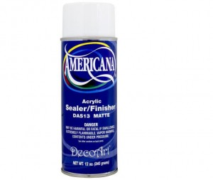Americana Sealer Spray Matt 354ml